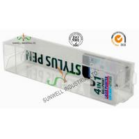 Cheap Electronics Ballpoint Plastic Packaging Boxes , Clear Plastic Display Boxes wholesale