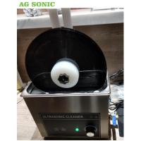 Cheap 6 Litre Table Top Ultrasonic Cleaning Machine , Ultrasonic Record Cleaner SS 304 wholesale