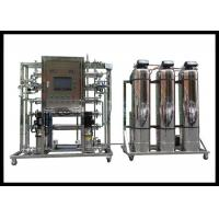 China Two Stage SS 500LPH Water Treatment Plant RO System on sale