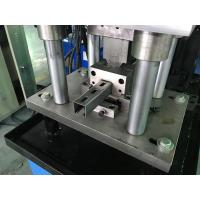 Cheap 1.0 - 1.6mm Guardrail Roll Forming Machine 14 stations By Chain wholesale