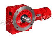 Cheap S helical gear and worm reducer/Helical Geeared Motor-Wuhan SUPROR Trans mission Machinery Co.,Ltd wholesale