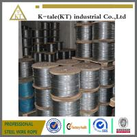 Cheap 1x7 various steel wire rope used on aircraft Cable wholesale