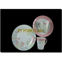 Cheap Home Usage Round Dinnerware Sets Lead Cadmium Free Dishwasher Safe Wearable wholesale