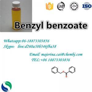 Cheap CAS 120-51-4 Benzyl Benzoate / Liquid Solvent / Plasticizer Acaricide wholesale