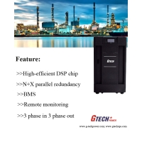 Cheap Three Phase 10KVA IGBT Double Conversion Low Frequency Online UPS wholesale