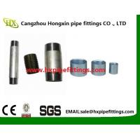 Cheap DIN EN 10226-1 coupling female -thread black and galvanized steel pipe sockets wholesale
