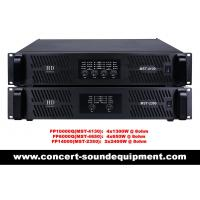 Buy cheap FP10000Q FP14000 Switch Mode Power Amplifier For Line Array Speaker / Subwoofer from wholesalers