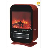 Cheap Contemporary Home Hardware Electric Fireplaces Black / Red Electric Fireplace Stove wholesale