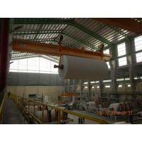 China 10 Ton 20m Heavy Duty Single EOT Crane For Paper Mill Workshop on sale