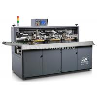Cheap Three Color Automatic Screen Printing Press For Beverage / Wine / Liqour Bottle wholesale