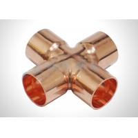 Cheap Refrigeration Pipe Fittings Copper Cross Fitting for Hvac With ASTM Standard wholesale
