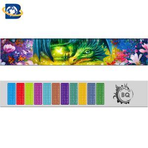 Cheap Fantastic 3D Lenticular Printing Ruler 0.9mm PET+157g Paper Material wholesale