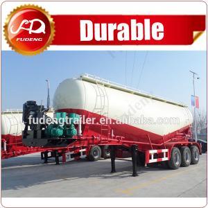 Cheap cement bulkers Dry bulk cement powder material silo truck tanker semi trailer--FOB14500 wholesale
