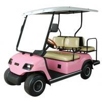Cheap 2+2 seaters gasoline golf cart with 4 person for sale wholesale