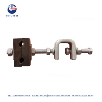Cheap ADSS / OPGW Fitting Down Lead Clamp For Tower wholesale