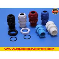 Cheap Non-metallic Plastic (Nylon) Cable Glands IP68 with Locking Nut & O-ring wholesale