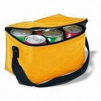 Cheap Six Can Cooler Bag, Made of 70D Polyester, with PVC Lining and Foam wholesale