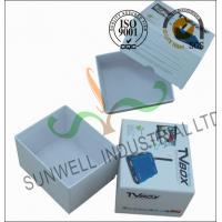 Cheap Corrugated Coated Paper Electronics TV Packaging Boxes White Color Matt Lamination wholesale