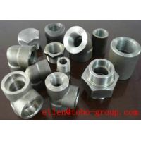 Cheap ASME B16.11 SW 45 Degree Elbow Stainelss Steel Pipe Fittings DN6 - DN100 3000LB wholesale