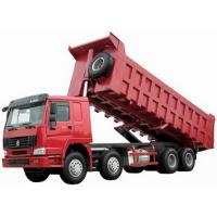 Quality CNHTC 8X4 tipper truck With 371 HP Engine 60 tons Loading Capacity and good transmission for sale