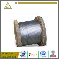 Cheap Steel Wire Rope and Cable 1x19,1X7, 3X7 wholesale