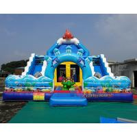 Buy cheap Inflatable Jumping Bouncer Castle Slide Inflatable Bounce House With Slide from wholesalers