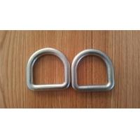 Cheap High Strength Safety D Rings Zinc Plated Buckle D Rings With Hot Forged wholesale