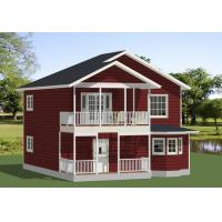 Cheap Movable Prefab Modular House By Galvanized Steel Frame Contemporary Style wholesale