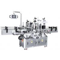 Cheap Universal Automatic Sticker Labeling Machine For Round / Square Flat Bottles wholesale