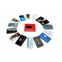 Cheap Automatic lcd video brochure card for holiday greetings , 1G / 2G lcd video mailer wholesale