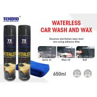 Cheap Waterless Wash & Wax Vehicle Exterior Surfaces Use With Streak Free Shine wholesale