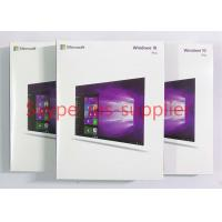 Quality Original Microsoft Windows 10 Proffesional Retail Software Including Full Data USB & Key Code Lincense Activation Online for sale