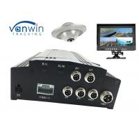 Cheap 4CH HDD GPS Basic black box car digital video recorder , Vehicle Mobile DVR SD card wholesale