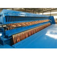 China Full Automatic Welded Wire Mesh Machine , Wire Mesh Roll Welding Machine Stable Performance on sale