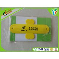 Cheap Non-toxic Flexible Silicone Phone Stand Yellow / Red Post Office Logo Printed wholesale