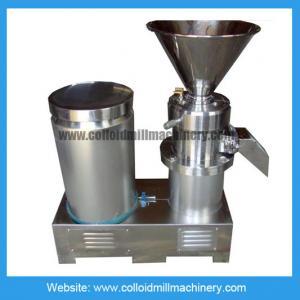 Cheap Peanut Butter Grinder Machine / 30-40kg/h 100-150kg/h 11kw Colloid Mill for sale