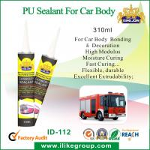 High Strength Clear Polyurethane Adhesive Sealant , PU Sealant For Car Body