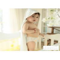 Cheap Naturally Organic , Hypoallergenic Plush Customized Baby Hooded Towels  90*90cm for sale