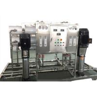 Cheap Stainless Steel Domestic Reverse Osmosis Water Purification Systems 220V / 380V wholesale
