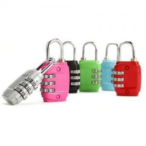 Cheap Zinc Alloy Mini Code Lock, Padlock wholesale