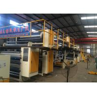 Cheap Steam Heating 5 Ply Corrugated Paperboard Production Line With 1600mm Effective Width wholesale