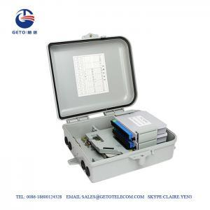 Cheap Small FTTX FTTH 500V Fiber Terminal Box 12 Cores wholesale