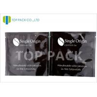 Buy cheap Glossy Effect Aluminum Foil Bags 3 Side Seal Stand Up Coffee Bags Food Grade from wholesalers