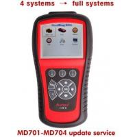 Cheap Intelligent Heavy Duty Truck Diagnostic Scanner MD701 / MD702 / MD703 / MD704 for 4 Systems to Full Systems wholesale
