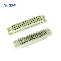 Cheap 3*16pin 32pin 48pin Female Eurocard Connector With Solderless Pin wholesale