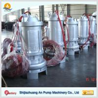 Cheap hebei non-clog electric centrifugal submersible sewage pump wholesale