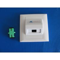 Buy cheap Wall Mounted Fiber Optic Termination Optical fiber face plate Fiber Surface from wholesalers