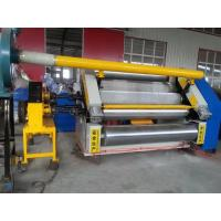 Cheap 1400 60-80m / Min N Flute Corrugated Cardboard Making Machine Paperboard Single Facer wholesale