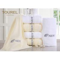Cheap Customized Hotel Hand Towels High Water Absorbent 100% Cotton wholesale