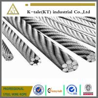 Cheap AS,DIN,GB 1x7 zinc coated aircraft cable wholesale